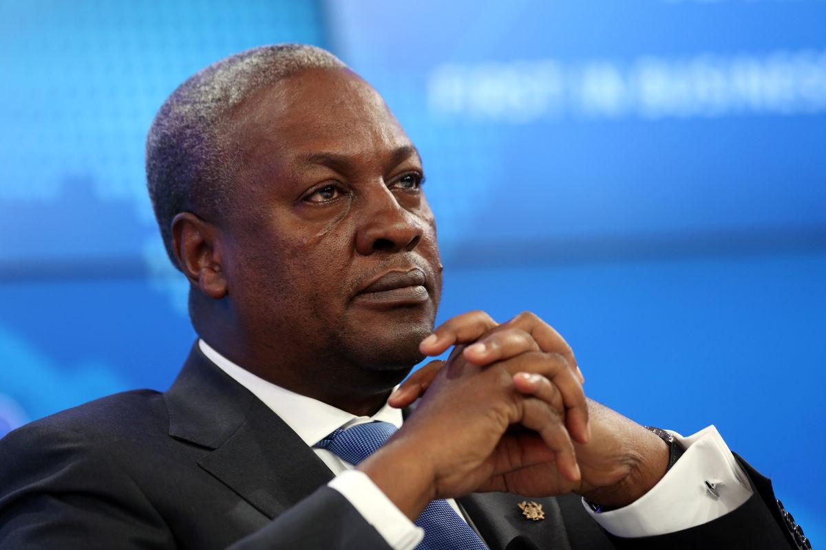 H.E. John Mahama   President of Rep. of Ghana